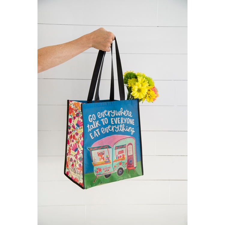 NATURAL LIFE GROVERY TOTE GO EVERYWHERE TRUCK GBAG108